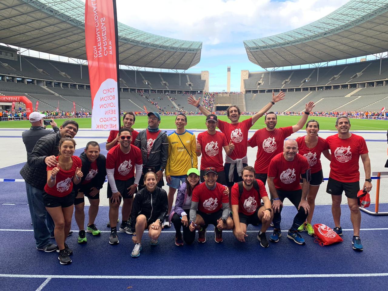 Grupo Berlin Marathon 2019 - Carreras Internacionales