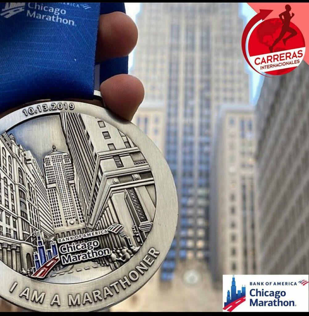 Medalla Chicago Marathon